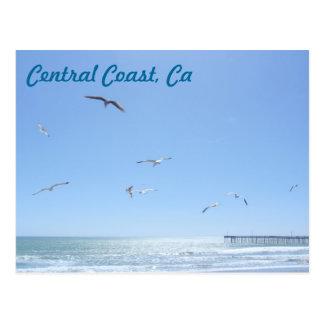 Central Coast, Ca Postcard