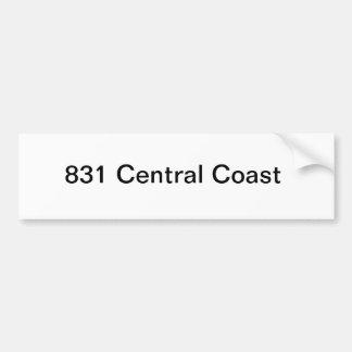 Central Coast California Bumper Sticker