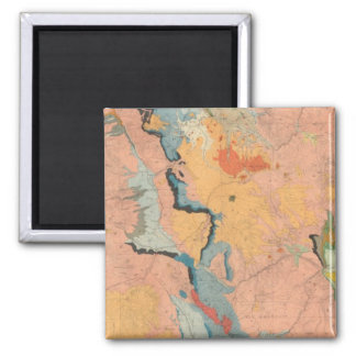 Central Colorado 2 Inch Square Magnet