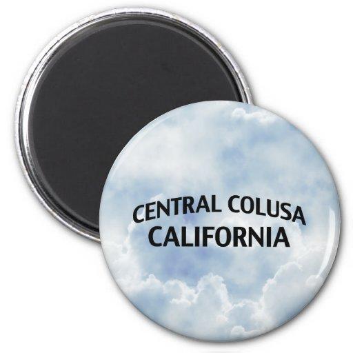 Central Colusa California 2 Inch Round Magnet