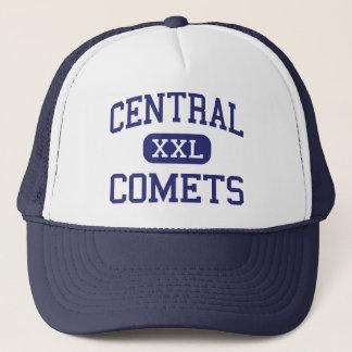 Central Comets Middle Burlington Illinois Trucker Hat
