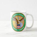 Central Command Classic White Coffee Mug