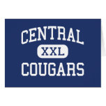 Central Cougars Middle Milton Freewater Greeting Cards