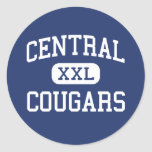 Central Cougars Middle Milton Freewater Stickers
