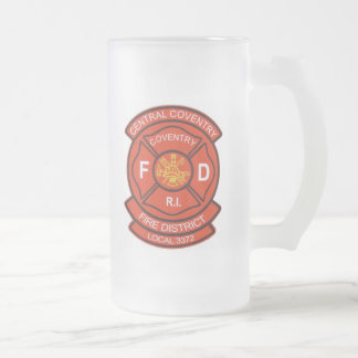 Central Coventry Fire District Local 3372 Beer Mug