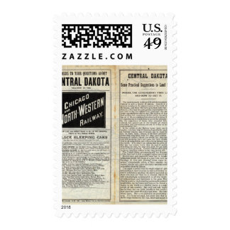 Central Dakota Postage Stamps