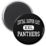 Central Dauphin East - Panthers - Harrisburg Fridge Magnet
