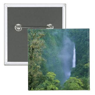 Central de Cordillera, caídas de Congo del ángel), Pin Cuadrada 5 Cm
