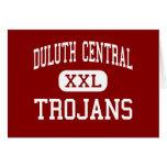 Central de Duluth - Trojan - alta - Duluth Minneso Tarjeton