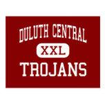 Central de Duluth - Trojan - alta - Duluth Minneso Postal