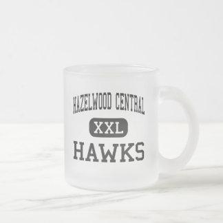 Central de Hazelwood - halcones - alta - Taza De Cristal