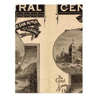 Central de Nueva York y ferrocarril del río Hudson Tarjetas Postales