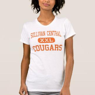Central de Sullivan - pumas - alta - Blountville Camiseta