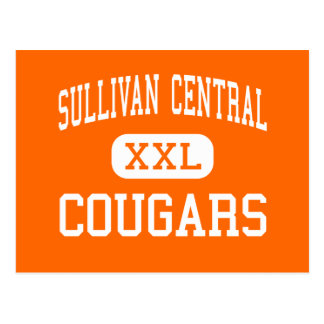 Central de Sullivan - pumas - alta - Blountville Tarjetas Postales
