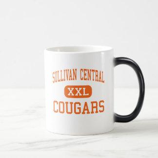 Central de Sullivan - pumas - alta - Blountville Taza De Café