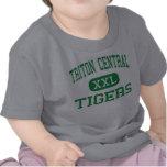 Central de Tritón - tigres - alta - Fairland India Camisetas