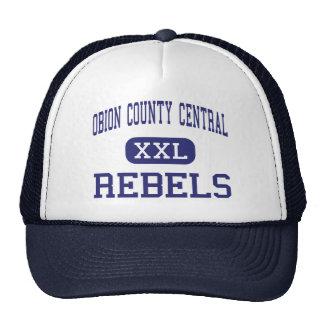 Central del condado de Obion - rebeldes - alta - T Gorros