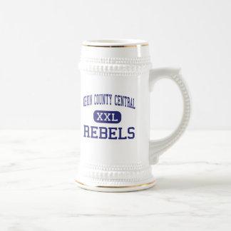 Central del condado de Obion - rebeldes - alta - T Tazas De Café
