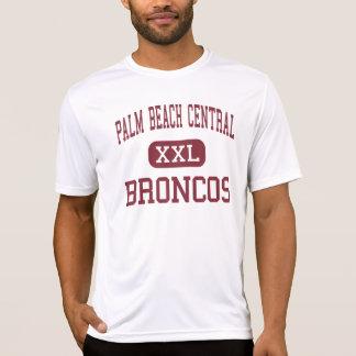 Central del Palm Beach - caballos salvajes - alta  Camiseta