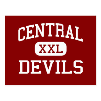 Central - Devils - Middle - Devils Lake Postcard