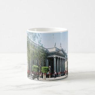Central Dublin, GPO & Jim larkin statue Classic White Coffee Mug