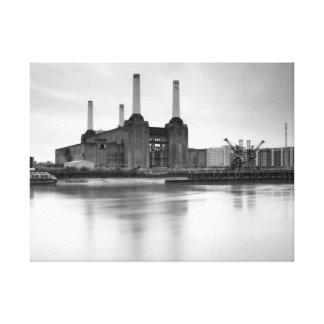 Central eléctrica de Battersea, Londres Lona Envuelta Para Galerias
