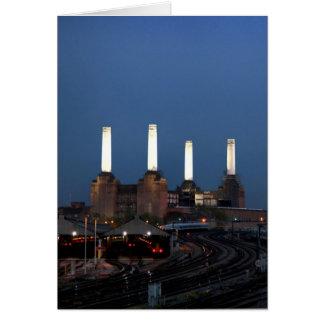 Central eléctrica de Londo Tarjeta De Felicitación