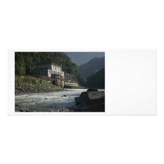 Central eléctrica de Wulai Wulai el condado de T Plantilla De Lona