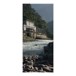 Central eléctrica de Wulai Wulai el condado de T Tarjetas Publicitarias A Todo Color