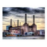 Central eléctrica Londres de Battersea Postales