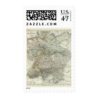 Central Europe, Germany, Poland Postage Stamp