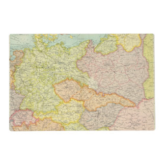 Central European states political Placemat