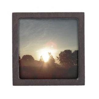 Central Florida Sunrise II Keepsake Box