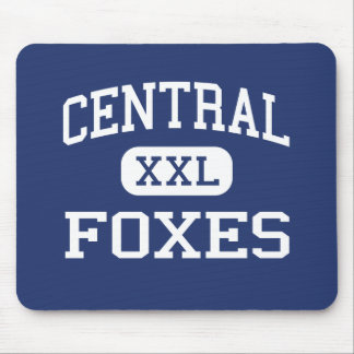 Central - Foxes - High - Salt Lake City Utah Mouse Pads
