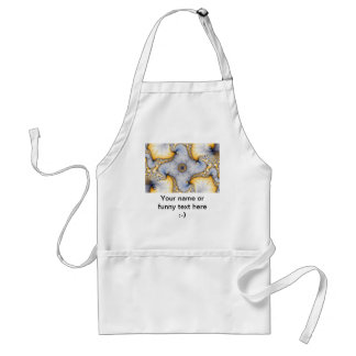 Central - Fractal Art Adult Apron