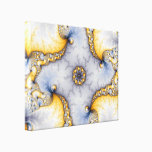 Central - Fractal Art Canvas Print