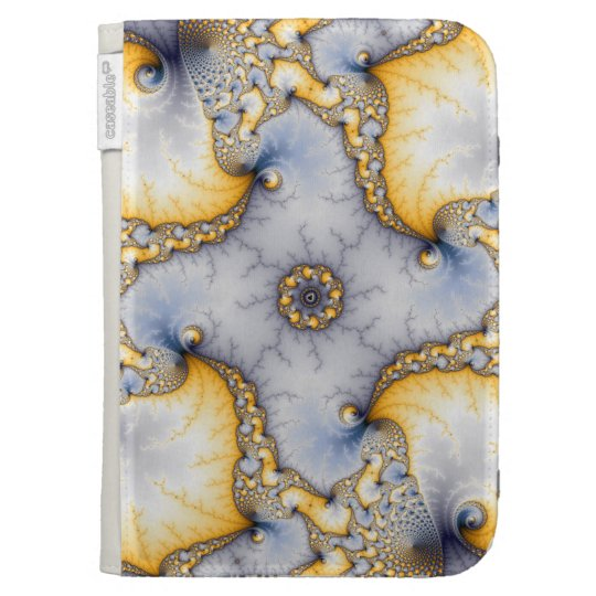 Central - Fractal Art Kindle 3 Cover