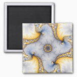 Central - Fractal Art Magnet