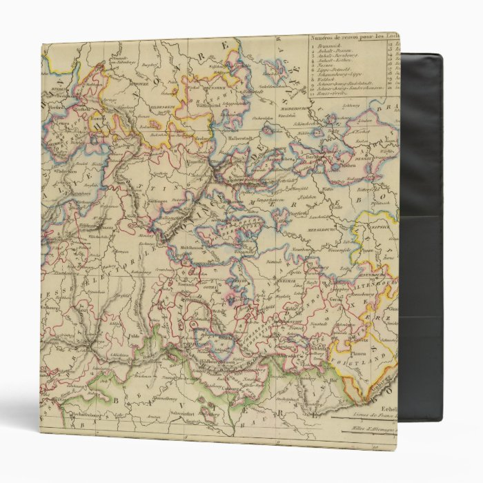 Central Germany 3 Ring Binder