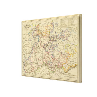 Central Germany Canvas Print