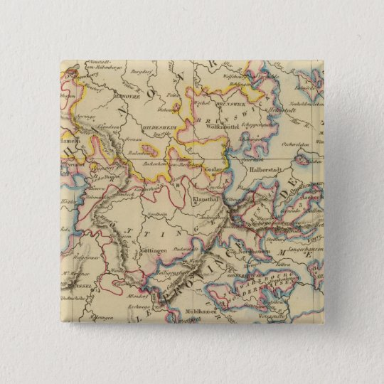 Central Germany Pinback Button