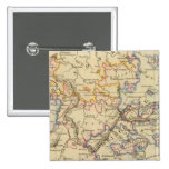 Central Germany Pinback Buttons