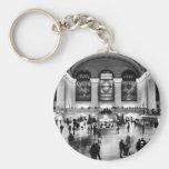 Central Grand Station - 100th Yrs Anniversary Basic Round Button Keychain