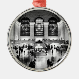 Central Grand Station - 100th Yrs Anniversary Metal Ornament