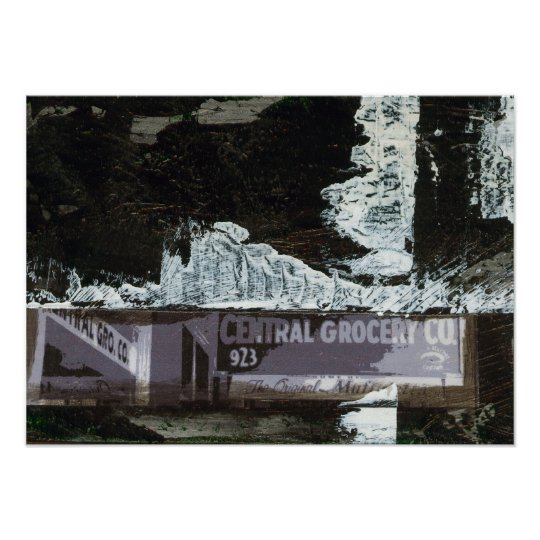 Central Grocery Co Poster