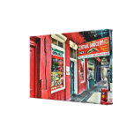 Central Grocery in the French Quarter Stretched Canvas Prints