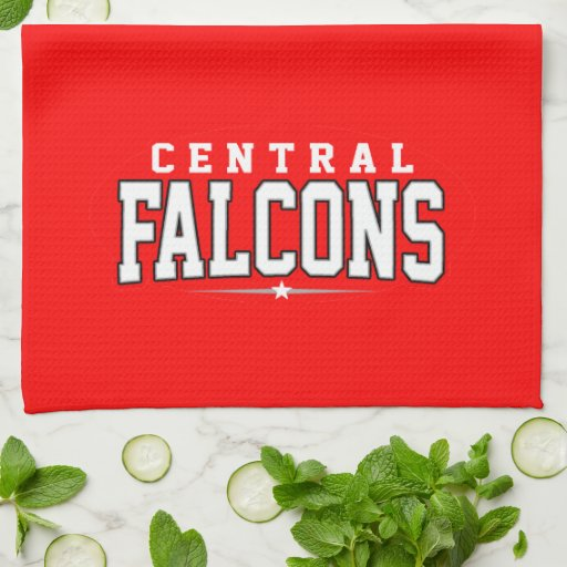 Central High School; Falcons Kitchen Towels