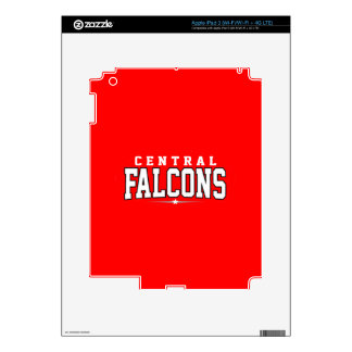 Central High School; Falcons Skins For iPad 3