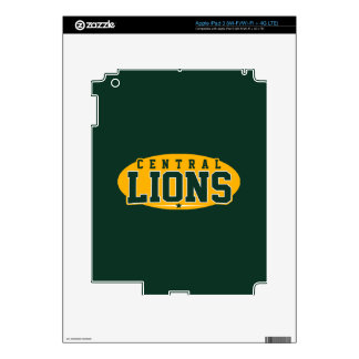 Central High School; Lions iPad 3 Decals