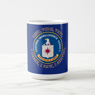 CENTRAL INTELLIGENCE AGENCY VVV Shield Coffee Mug
